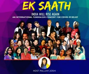 'Ek Saath India Will Rise Again' concert proves to be for the ages (Ld)