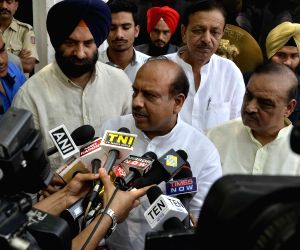 Vijender Gupta meets Delhi Lieutenant Governor