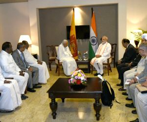 Sri Lankan opposition leader call on Modi