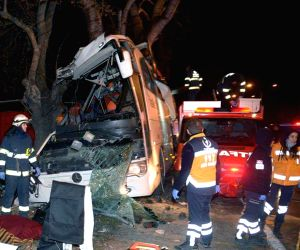 TURKEY ESKISEHIR BUS ACCIDENT
