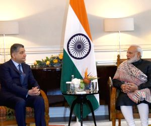 St. Petersburg: Tigran Sargsyan calls on Modi
