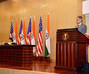 Sushma Swaraj-John Kerry joint press conference