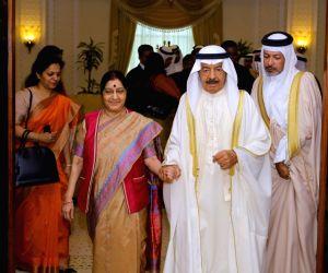 Manama (Bahrain): Sushma Swaraj meets Bahrain PM