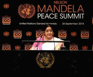 Mandela should be 'our moral compass': Swaraj