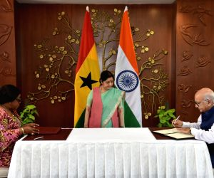 India, Ghana discuss development cooperation, people-to-people ties