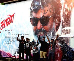 """Rajinikanth fans celebrate """"Kaala"""" release"""
