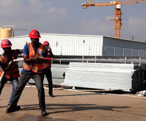 KUWAIT FARWANIYA CHINA CSCEC FIREFIGHTING COMPETITION