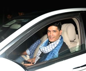 Neha Dhupia's birthday celebrations at Karan Johar's residence - Manish Malhotra