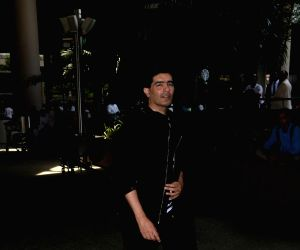 Manish Malhotra seen at airport