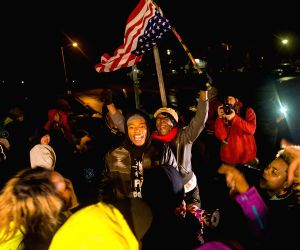 Ferguson (United States): Protest to pending the Grand Jury's decision