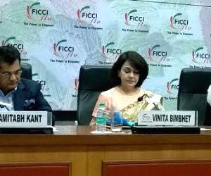 Amitabh Kant, Sabyasachi Mukherjee felicitate women entrepreneurs