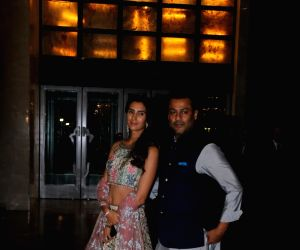 Zaheer Khan and Sagarika Ghatge's post wedding party - Abhishek Kapoor and Pragya Yadav