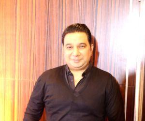 Ahmed Khan at a studio launch