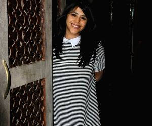 Ekta Kapoor celebrates birthday with close friends and family