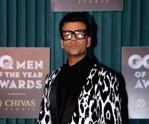 "Filmmaker Karan Johar at the ""GQ Men of the Year Awards 2018"" in Mumbai on Sept 27, 2018."