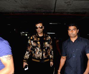 Karan Johar seen at airport