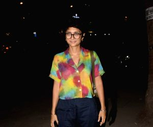 Kiran Rao at a Juhu restaurant