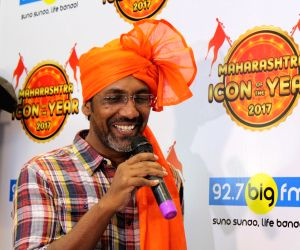 Nagraj Manjule at Maharashtra Icon Award