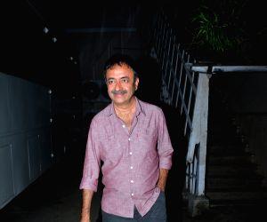 Rajkumar Hirani at Mehboob studio