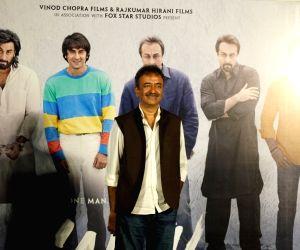 "Teaser launch of Sanjay Dutt's biopic ""Sanju"" - Rajkumar Hirani"