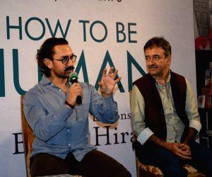 Aamir Khan, Rajkumar Hirani at Manjeet Hirani's book launch