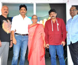 Ram Gopal Varma and Nagarjuna - movie launch