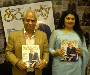 Unveiling of Society magazine May 2017 issue