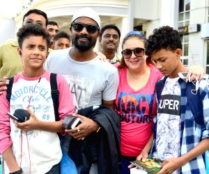 Remo D'Souza arrives at Jodhpur airport