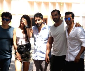 Wrap up of film Dishoom