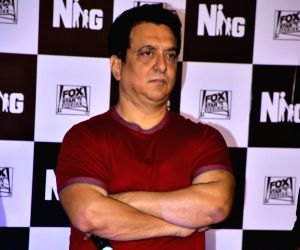 Filmmaker Sajid Nadiadwala during the trailer launch of his upcoming film 'Baaghi 2' in Mumbai on Feb 21, 2018.