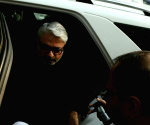 Bhansali arrives to appear before Parliament Standing Committee