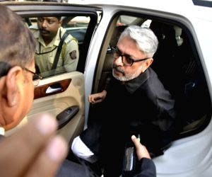 "Bhansali arrives to meet parliamentary panel over his film ""Padmavati"