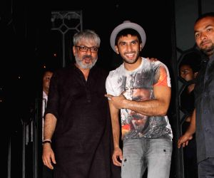 Sanjay Leela Bhansali hosts party