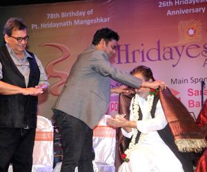 A R Rahman receives Hridaynath award