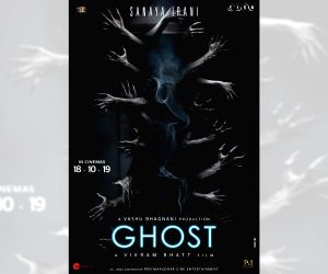 Vikram Bhatt unveils official posters of 'Ghost'