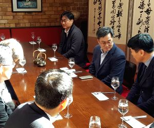 Deputy PM Kim Dong-yeon in New Zealand
