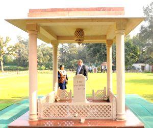Finnish Foreign Minister Timo Soini visits Gandhi Smriti