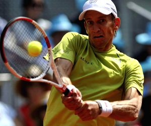 Madrid (Spain): Madrid ATP Tennis Open Singles - Rafael Nadal vs Jarkko Nieminen