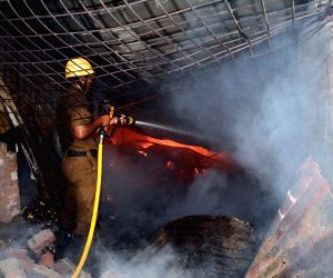 Fire breaks out in Charu market