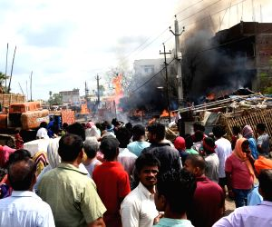 Fire breaks out in Digha