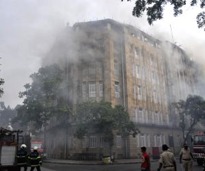 Fire breaks out at Scindia House