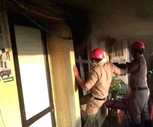 Fire breaks out GHMC office in Khairatabad