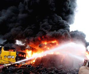 Chamrajpet Fire