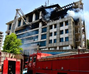 Fire at Jaipur building