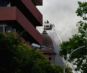 Fire at SBI headquarters