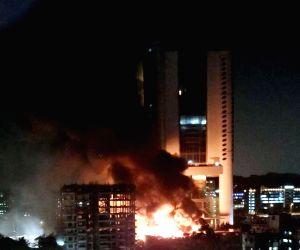 Free Photos: Fire guts Cine Vista Studios in Mumbai, no casualties
