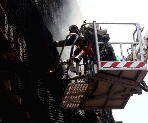 : Mumbai: Fire at Mumbai building