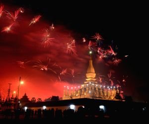 LAOS FIREWORKS 40TH ANNIVERSARY
