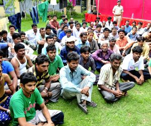 78 Indian fishermen released by Pakistan at Red Cross House