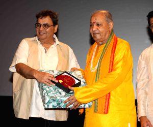 Pandit Hariprasad Chaurasia visits Whistling Woods